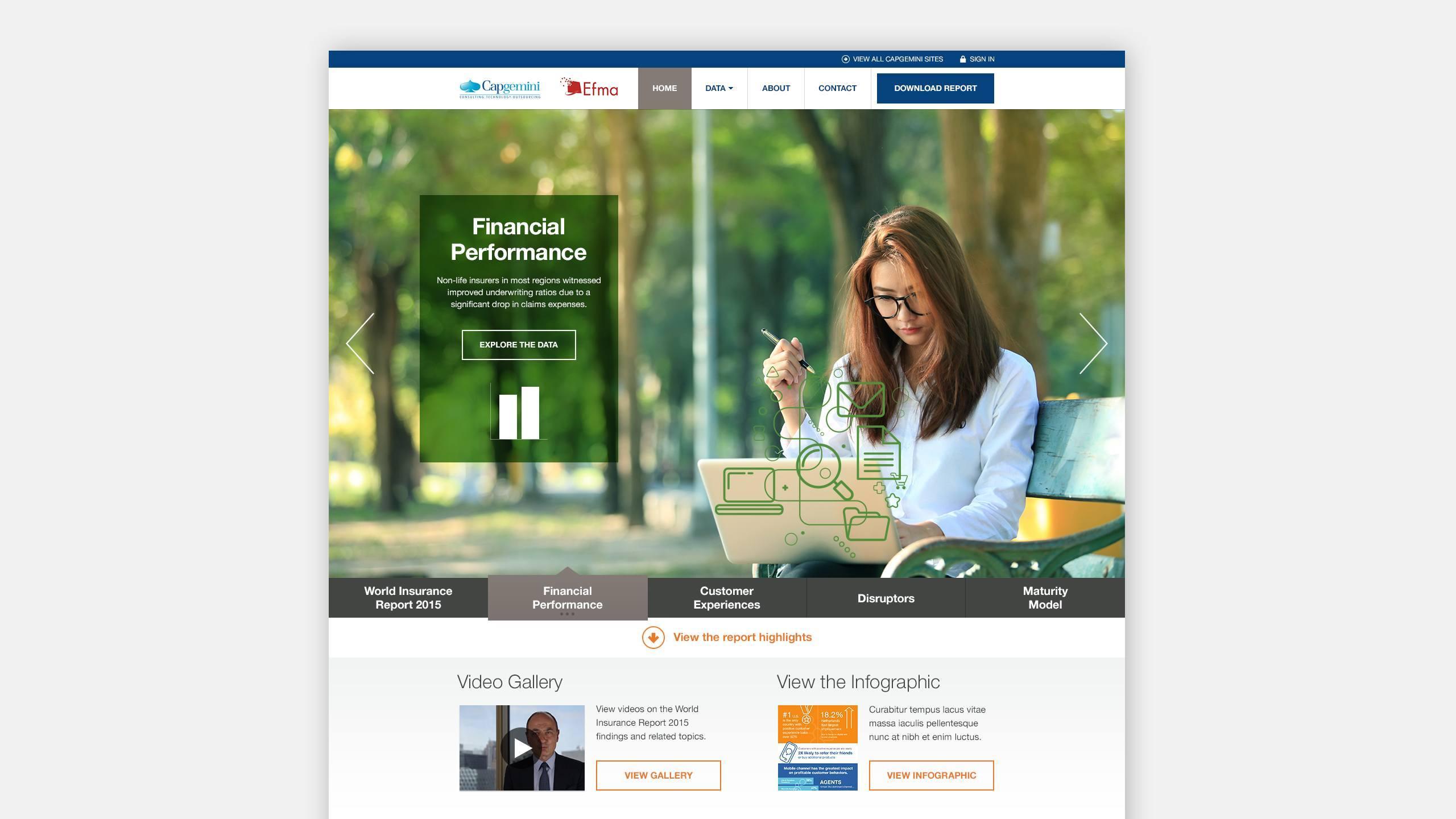 Capgemini website