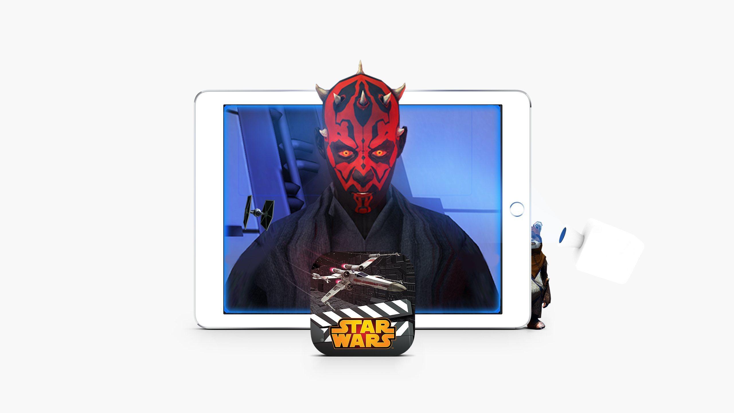 Star Wars Scene Maker app