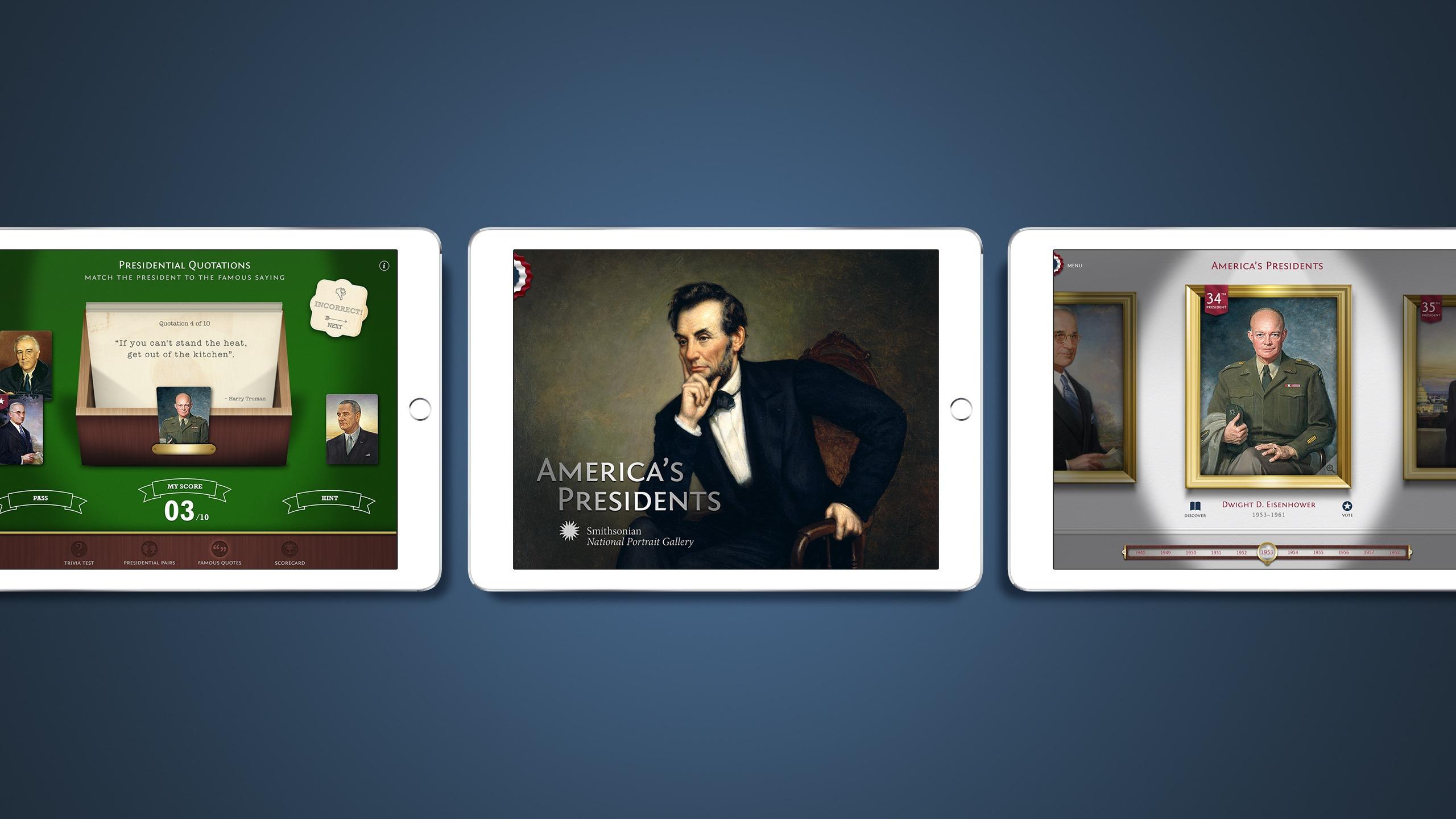 Americas Presidents app