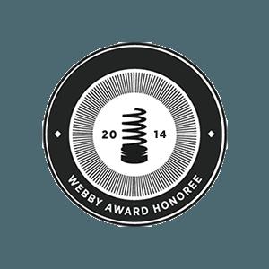 Webby Honoree 2014
