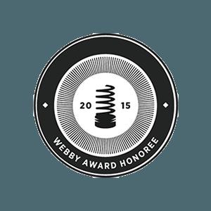 Webby Honoree 2015
