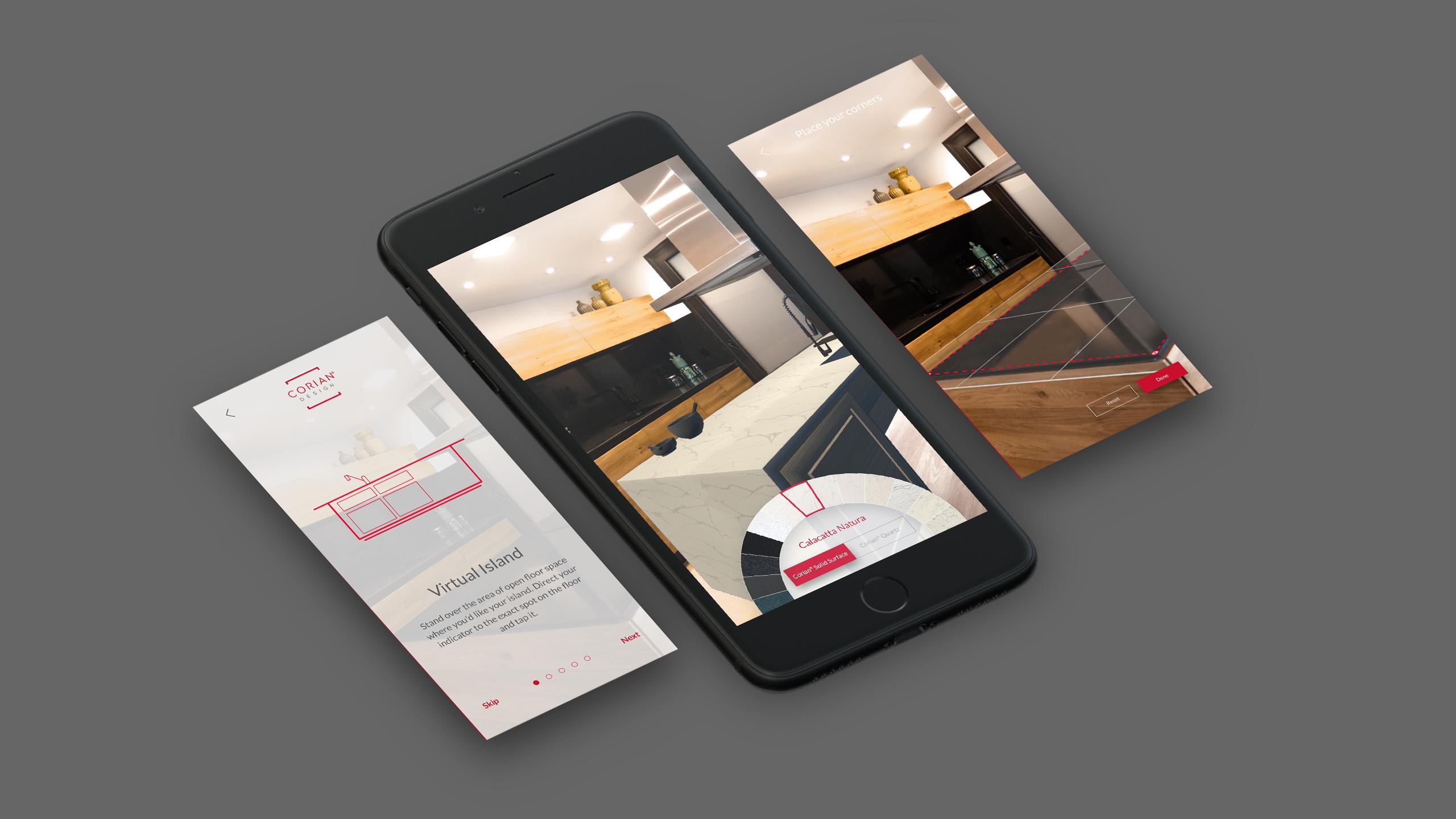 DuPont AR kitchen app